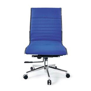 Ivy Bronx Fairley Mid Back Swivel Armless Office Chair