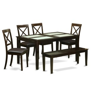 Charlton Home Smyrna 6 Piece Dining Set