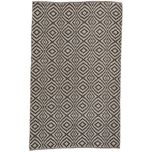 Arbor Handwoven Flatweave Black Indoor/Outdoor Area Rug