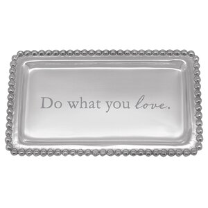 Expressions Do What You Love Serving Tray