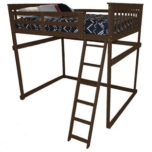 Swainsboro Loft Bed with Side Ladder by Zoomie Kids