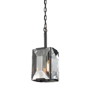 Dionte 1-Light Square/Rectangle Pendant by Willa Arlo Interiors