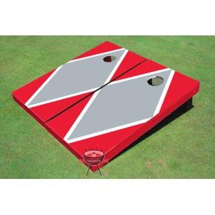 All American Tailgate Matching Diamond Cornhole Board (Set of 2)