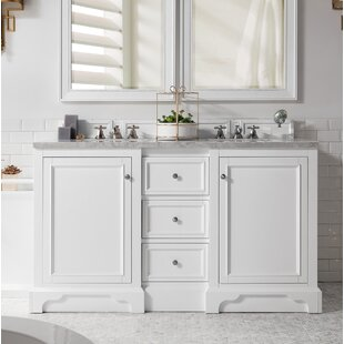 Kewstoke 61 Double Bathroom Vanity Set by Alcott Hill
