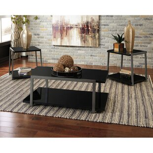 Ruder 3 Piece Coffee Table Set