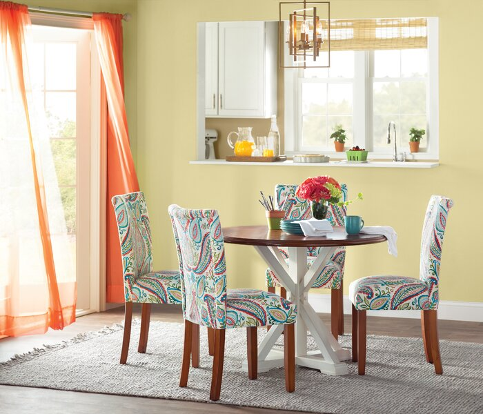 Miraculous Giana Paisley Upholstered Dining Chair Cjindustries Chair Design For Home Cjindustriesco