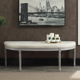 One Allium Way Huxley Upholstered Bench