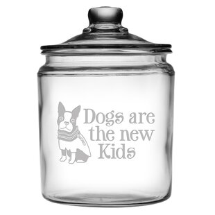 Traditional Dogs are the New Kids Half Gallon Treat Jar