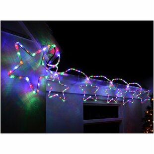 7 Christmas Stars Lighted Display Image