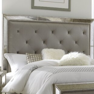 Halstead Upholstered Panel Headboard by House of Hampton