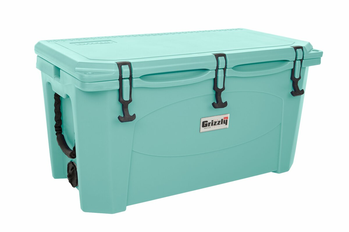 grizzly coolers 75 qt rotomolded cooler u0026 reviews wayfair