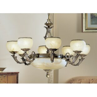 Classic Lighting Alexandria II 12-Light Shaded Chandelier