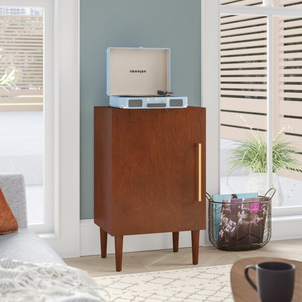 Beau Retro Record Player Stand | Wayfair