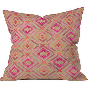 Demina Feathered Arrows Indoor/Outdoor Throw Pillow
