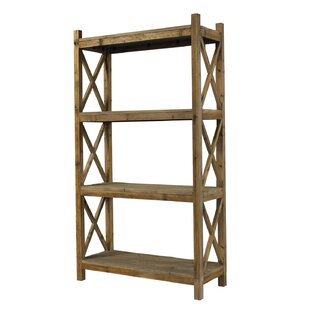 Salvaged Wood Etagere Bookcase