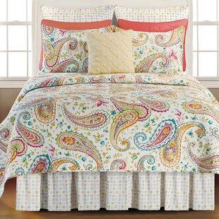 Heitz Cotton Reversible Quilt Set