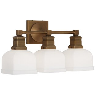 Robert Abbey Taylor 3-Light Armed Sconce