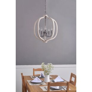 Popp 5-Light Globe Chandelier by Gracie O..
