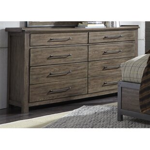 Gracie Oaks Clayton 8 Drawer Double Dresser