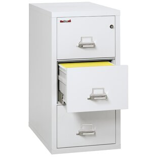 Best Reviews Fireproof 3 Drawer Vertical Filing Cabinet by FireKing