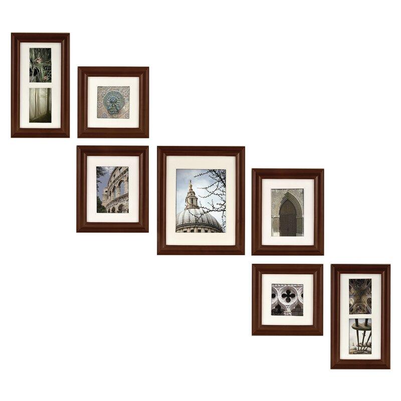 Red Barrel Studio Cabarite 7 Piece Create a Gallery Picture Frame ...