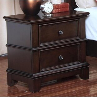 Darby Home Co Yip 2 Drawer Nightstand