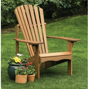 Lodge Wood Adirondack Chair