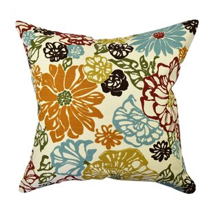 Classical Floral Throw Pillow