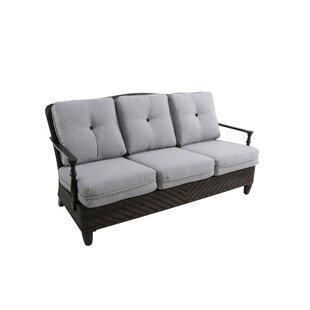 Paula Deen Home Bungalow Patio Sofa with Cushions