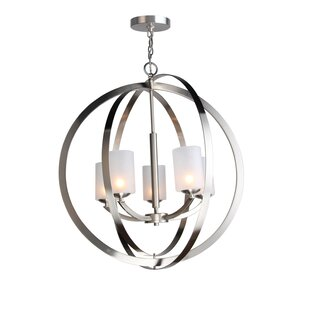 Heavner 5-Light Globe Chandelier