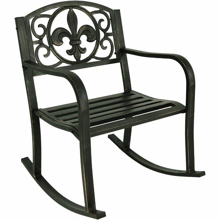 Zelda Patio Rocking Chair
