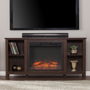 Cross TV Stand for TVs up to 55 with Fireplace by Charlton Home