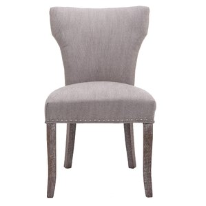 Melvin Nail Head Upholstered Dining Chair (Set of 2) by Caribou Dane