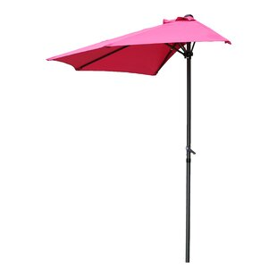 Beachcrest Home Dade City North 9' Half Market Umbrella