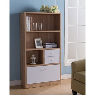 Panama Modern Contemporary Design Display Standard Bookcase by Wrought Studio Sale