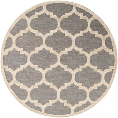 Hand Tufted Gray Area Rug Andover Mills