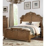 Zangerl Carved Standard Bed by Astoria Grand