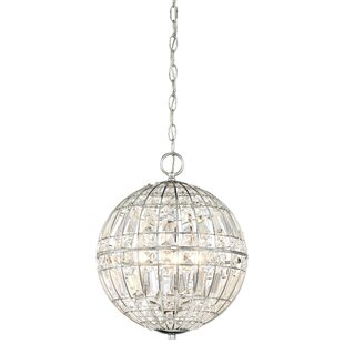 Everly Quinn Kenton 4-Light Crystal Pendant