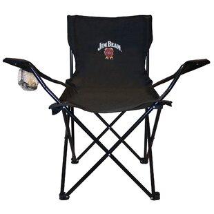 Comparison Fabric Folding Chair by Jim Beam