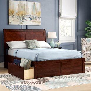 Esparza Storage Platform Bed by Three Posts