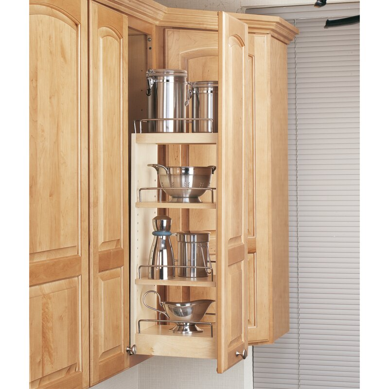 Rev A Shelf Wall Cabinet Organizer Pull