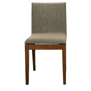 Serpens Square Parsons Chair (Set of 2) by Latitude Run