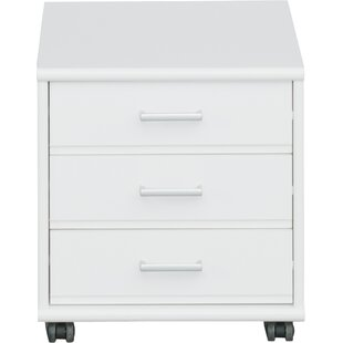 Waltrip 3-Drawer Mobile Vertical Filing Cabinet by Latitude Run Comparison