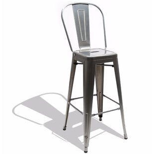 Savana High Back 30 Bar Stool