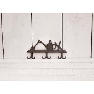 Flores Wall Mounted Coat Rack By Brambly Cottage