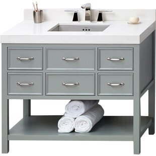 Check Prices Newcastle 42 Single Bathroom Vanity Base Only By Ronbow