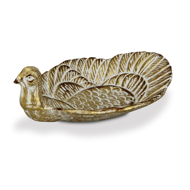 Ophelia Co Osgood Peacock Decorative Bowl Wayfair