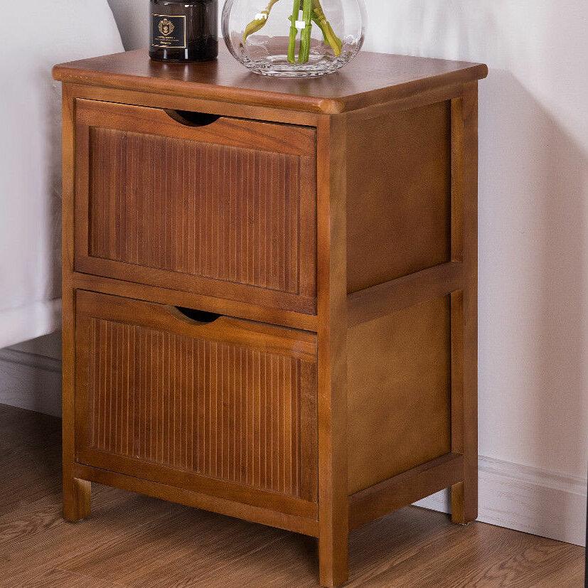 Night Stand Designs : Charlton home kirsten drawer nightstand wayfair