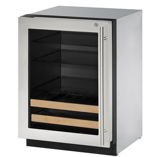 2000 Series Reversible Stainless Steel 24-inch 4.9 cu. ft. Undercounter Beverage Center