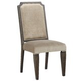 Svantepolk Fabric Slat Back Side Chair in Beige (Set of 2) by Winston Porter